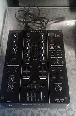 Pioneer DJM 350 Black Usato/Used Sept 2010