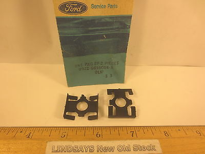 """2 Pcs In 1 Ford Package 1979/1988 Mustang """"Clip"""" (Luggage Carrier Retainer) Nos"""