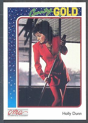 Holly Dunn, Country Music Star on a 1992 Country Gold Music Card #35