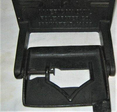 Antique Foley Ma Usa Architectural Home Bath Room Cast Iron Toilet Paper Holder