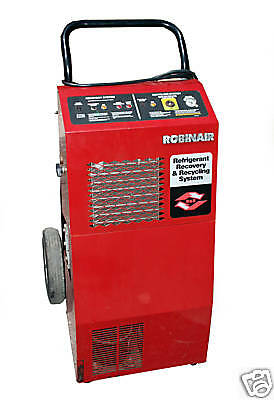 Robinair Refrigerant Recovery & Recycling Station Model 17500 B - R12 22 500 502