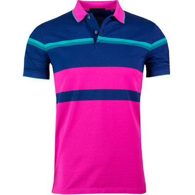 fcb88e2061a 1 Nwt Greyson (Rlx) Shawnee Flamingo Men's Golf Polo Shirt, Size: Large