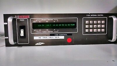 Vertex 7134 Antenna Controller USED POWERS ON/READ AD