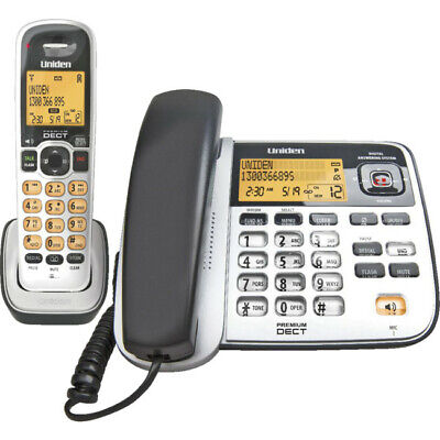 UNIDEN DECT2145+1 DIGITAL 2 IN 1 PHONE Answering Machine Time and Date Display