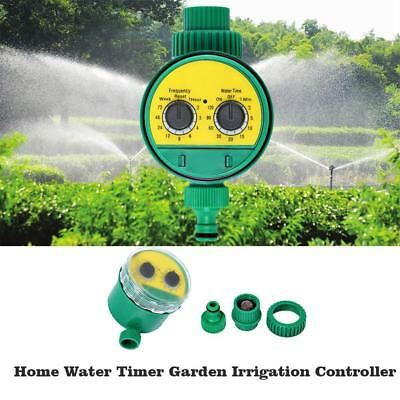 Two Dial Automatic Electronic Water Tap Timer Garden Irrigation Controller Z1