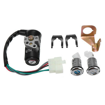 Ignition Switch Key Set 5 Wires For Gy6 50cc 125cc 150cc Jonway Moped Scooter