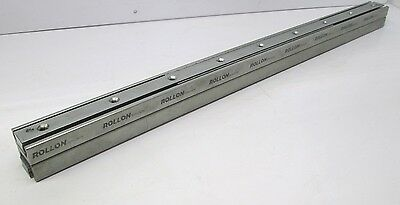 Rollon DEM43-0690 Heavy Duty Telescopic Guide Rail Slide 726mm Stroke 675lb Load