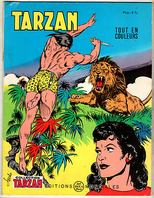 COLLECTION TARZAN n°31 # 1968 # EDITIONS MONDIALES DEL DUCA