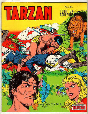 COLLECTION TARZAN n°32 # 1968 # EDITIONS MONDIALES DEL DUCA