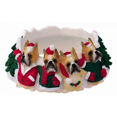 Boxer Holiday Candle Topper Ring Cropped