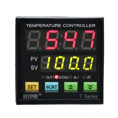 MYPIN® Universal Programmable Digital Adjustor PID F/C Thermostat Temperature by