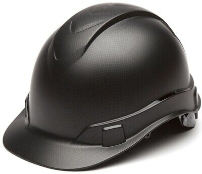 Pyramex Cap Style RIDGELINE Hard Hat Graphite Pattern - 6 Point Liner