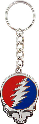 56059 Grateful Dead Steal Your Face Rock Music 1960s METAL Key Chain Keychain