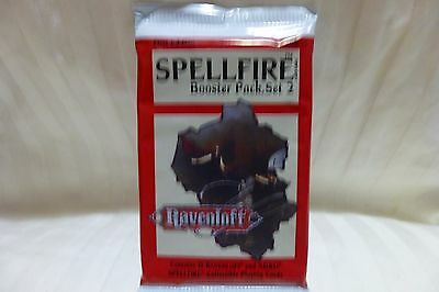 Spellfire  Booster Pack,set 2   Ravenloff  Trading Cards First Edition Brand New