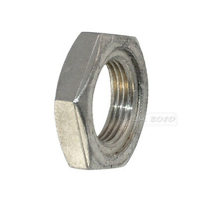 "LOCKNUT 3/4"" BSPT 304 STAINLESS STEEL HEX LOCK NUT O-Ring Groove Pipe Fittings"
