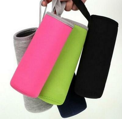 Sport Water Bottle Cover Neoprene Insulated Sleeve Case Bag Pouch for 420 /550mL