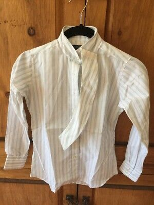 Chelsea Girls Size 8 English Show Shirt Made In USA