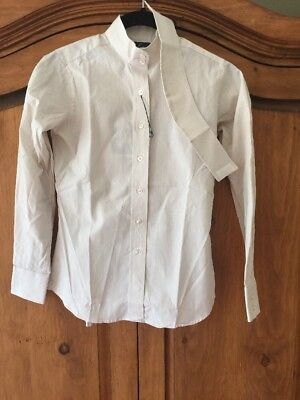 Essex Kids Size 10 English Show Shirt Made In USA