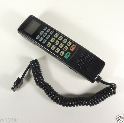 Vintage 1980'S OKI MOBILE PHONE CAR (Brick) HANDSET and Cord