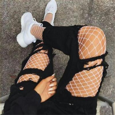 Women Lady S-XL Fishnet Breathable Elastic Stockings Tights Pantyhose Socks US
