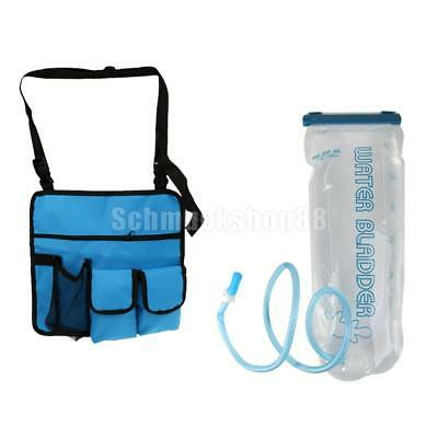 Portable 3L Hydration Pack Wasser Tasche + Camping Strand Stuhl Storage Side