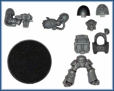 Space Marine Terminator Model Armed with Stormbolter & Power Fist - Random Parts
