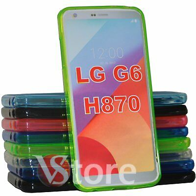 Cover Custodia Per LG G6 H870 in Silicone Gel TPU Retro Opaco