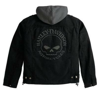 Harley Davidson Willie G Jacket Cotton Canvas (Sizes L, Xl, 2Xl) 98415-10Vm