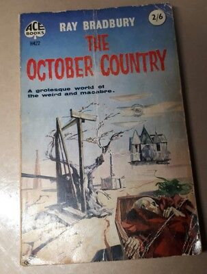 THE OCTOBER COUNTRY, Good Condition Book, Bradbury, Ray H 422 ACE BOOKS
