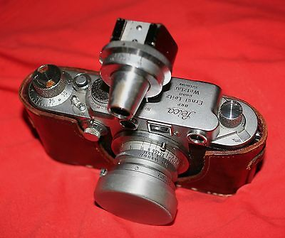 Leica 3.5cm Elmar/Summaron FOOKH Lens Shade Cap Also fits SOOGZ(Black or Silver)