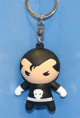 Marvel 3-D Figural Keyring Keychain Series 3 The Punisher Rare