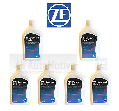 6 Liters OEM ZF Lifeguard 6 Automatic Transmission Fluid S671090255