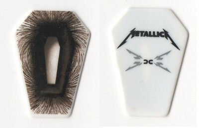 METALLICA-COFFIN-SHAPED Death Magnetic WORLD TOUR GUITAR PICK!
