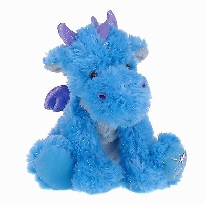 Russ Shining Stars DRAGON Plush Fuzzy Soft & Sparkly NEW with all tags