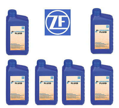 Audi BMW Jaguar Porsche VW Land Rover 6 Liters Auto Trans Fluid ZF LIFEGUARD 5