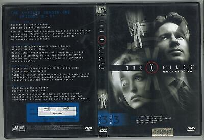 The X Files Collection Stagione 1 Volume 3 Dvd Editoriale Ottimo Usato