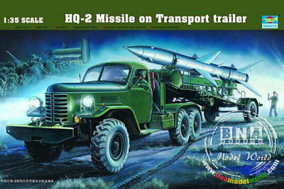 Trumpeter Model kit 1/35 HQ-2 Missile with Loading Cabin