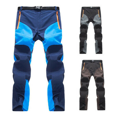 MILITARY Men Soft Shell Tactical Trousers Cargo Long Outdoor Travel Quick Dry