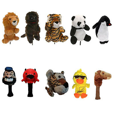 Legend Novelty Driver Headcovers - New Golf Club Head Cover Animal Cartoon
