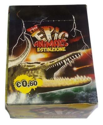Epic Animals Estinzione Box 40 Bustine Figurine Diramax