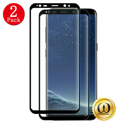 For Samsung Galaxy Note 8 S8 Tempered Glass Full Cover 3D Screen Protector TY