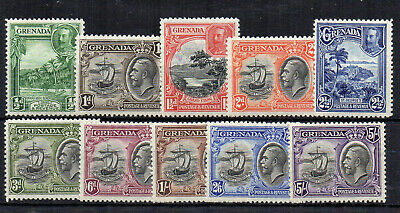 Grenada 1934-36 set to 5s MH