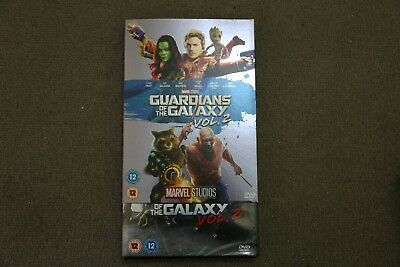 Marvel Guardians Of The Galaxy Vol 2 With Limited Edition Slipsleeve New Dvd