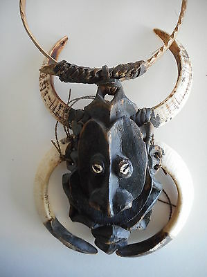 Large Unusual Tribal Necklace Indonesia or Philippines