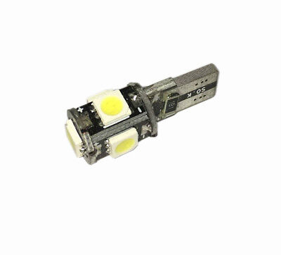 Led Posizione T10 Spia Can 5 Led Smd