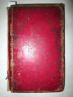 ANTIQUE HANDWRITTEN RECIPE & COOK BOOK Vintage Food/Beer/Wine/Medicine NY 1873