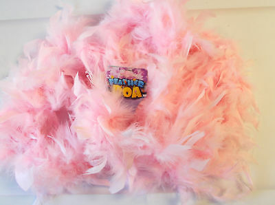 Pink Feather Boa 5' Dress Up Costume NWT
