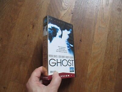 CASSETTE VIDEO VHS CINEMA GHOST patrick swayze demi moore whoopi goldberg