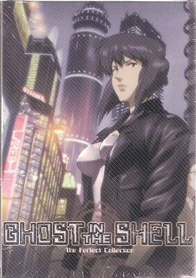 *Billig!* GHOST IN THE SHELL Paket | S1+S2 | 01-52 | English Audio! | 6 DVDs