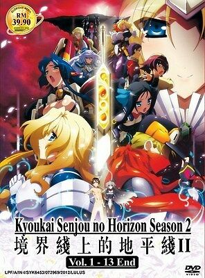 KYOKAI SENJOU NO HORIZON S2 | 1-13 | English Subs | 2 DVDs (GM0038)